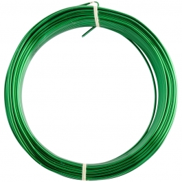 14 Gauge Green Enameled Aluminum Wire - 60ft