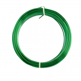 18 Gauge Green Enameled Aluminum Wire - 200ft