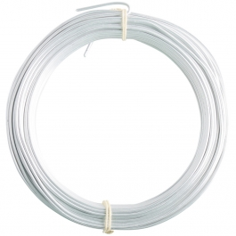 14 Gauge Matte Silver Enameled Aluminum Wire - 60ft
