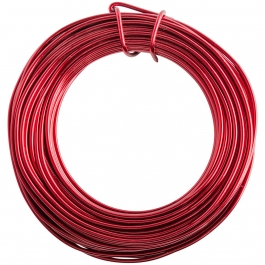 12 Gauge Red Enameled Aluminum Wire - 40FT