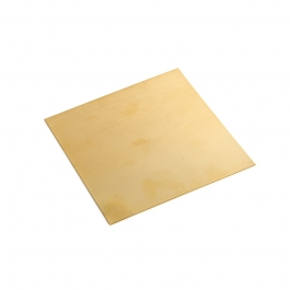 18 Gauge Half Hard Double Clad Gold Filled Sheet - 4 Inches