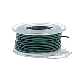 24 Gauge Round Teal Enameled Craft Wire - 60 ft