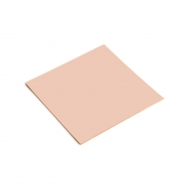 20 Gauge Half Hard Double Clad Rose Gold Filled Sheet - 4 Inches