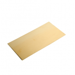 18 Gauge 0.040 Dead Soft Red Brass Sheet Metal - 6x12 Inch