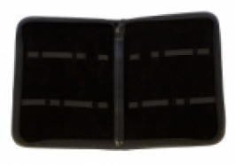 Black Zippered Tool Case - Large