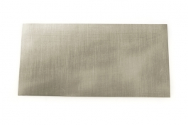 Nickel Sheet Metal - 24 Gauge - 6 x 3 Inches