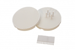 Mini Ceramic Honeycomb Soldering Board With 20 Ceramic Pins